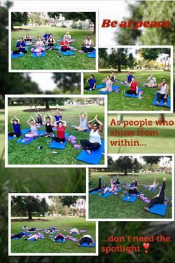 Mobile Yoga 2U @ Botanical Gardens