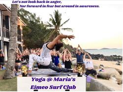 Full Moon Yoga @ Maria's