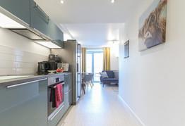 Light apartment
