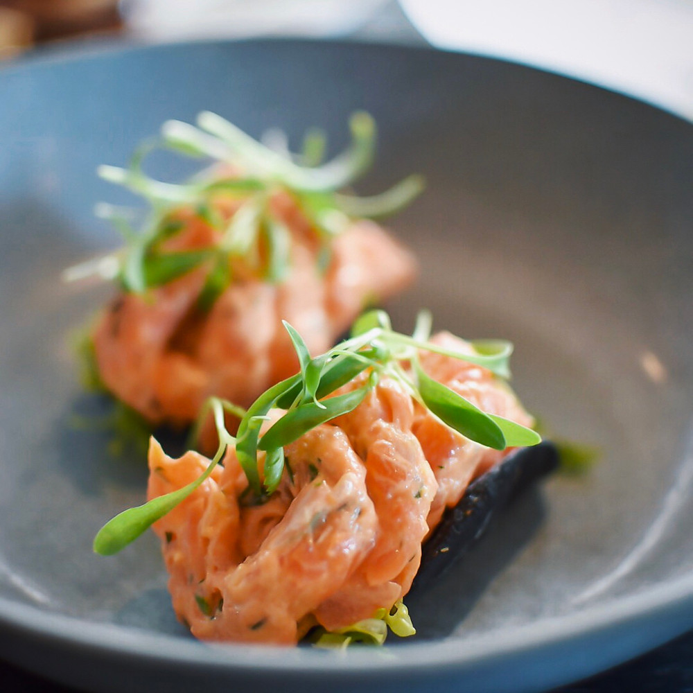 Pure South Dining | Smoked Ocean Trout Taco