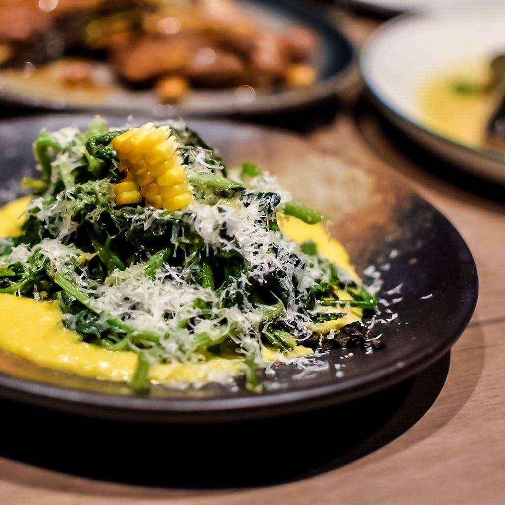 Osteria Ilaria | Charred cime di rapa