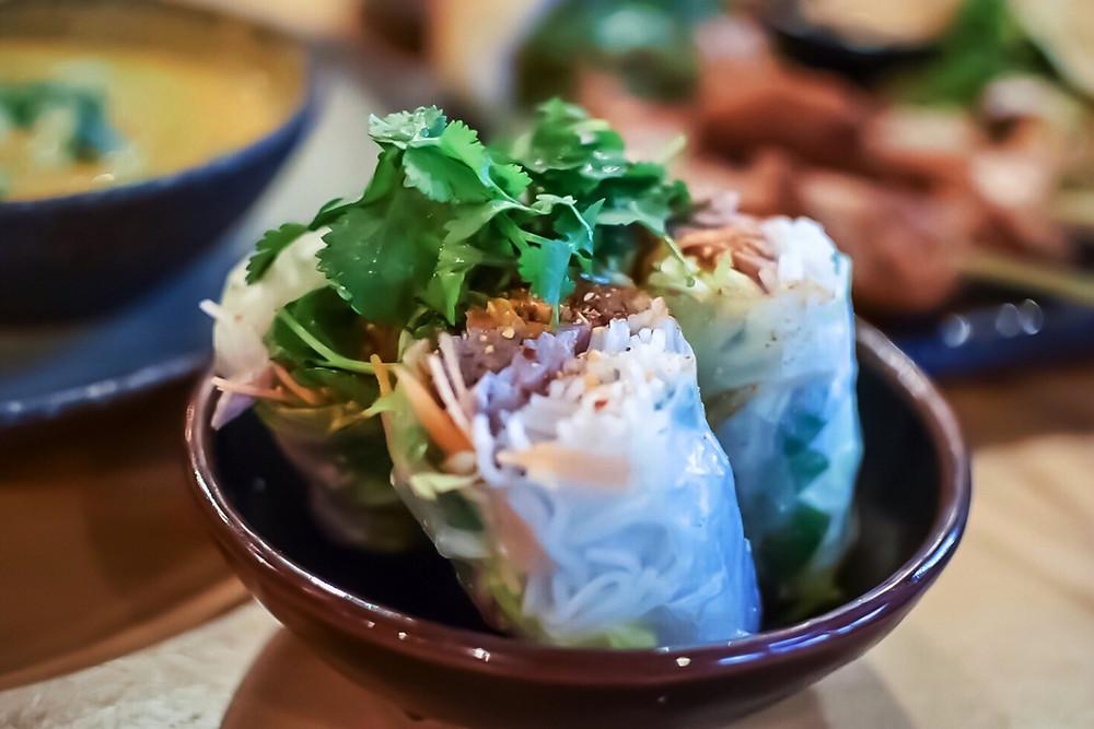 Hochi Mama | Vietnamese rice paper rolls