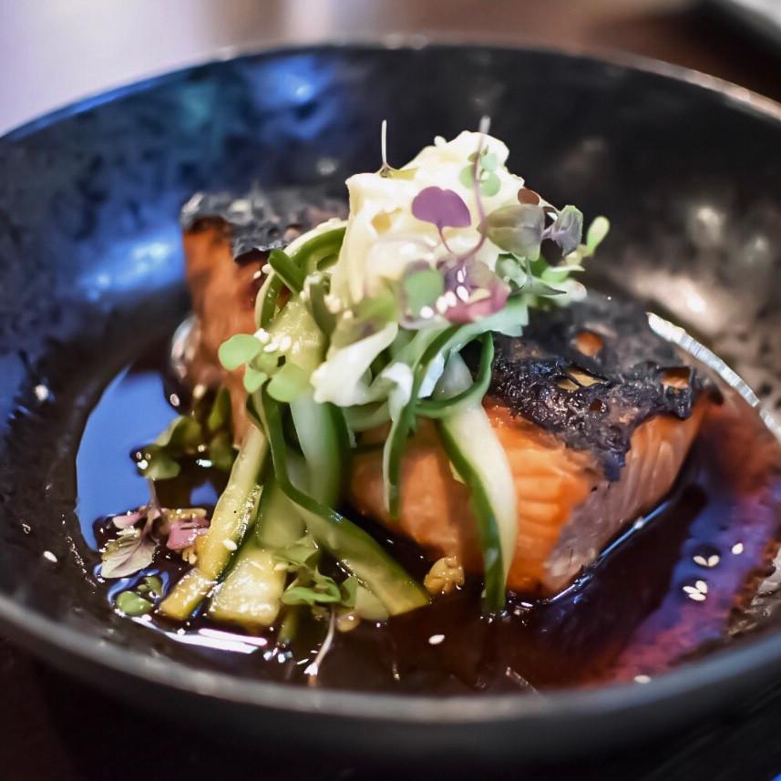 Blondie Bar | Teriyaki King Ora Salmon