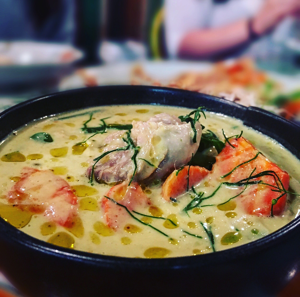 Melbourne restaurant reviews | Mr Nice Guy | Green curry chicken