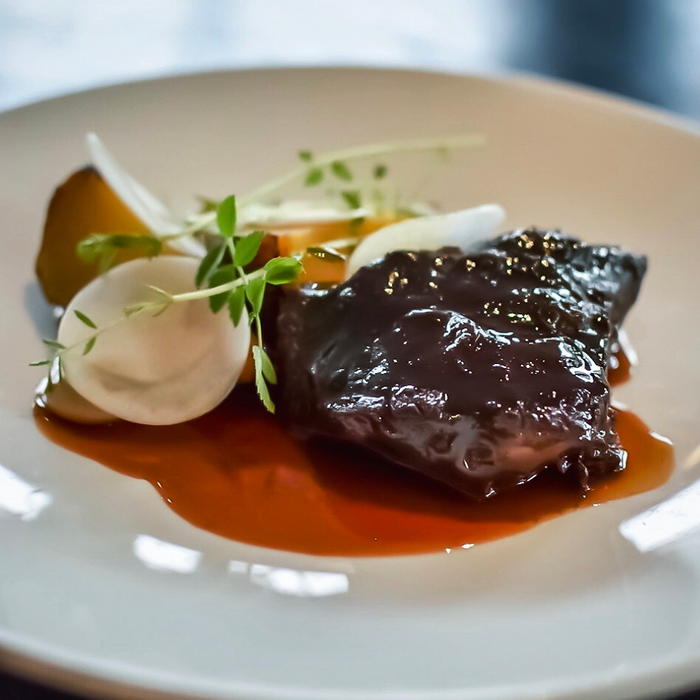 Pure South Dining | Beef Cheek, Caramelised Cauliflower