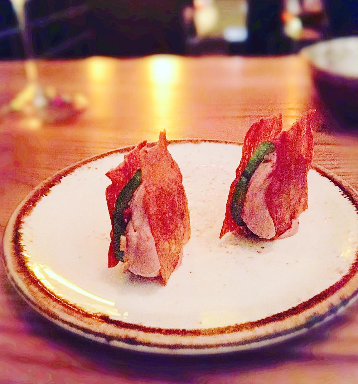 Melbourne restaurant reviews | The Town Mouse | Duck liver parfait