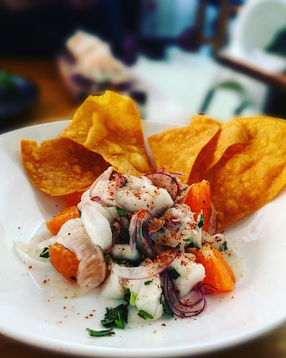 Melbourne restaurant reviews   Mamasita   Ceviche