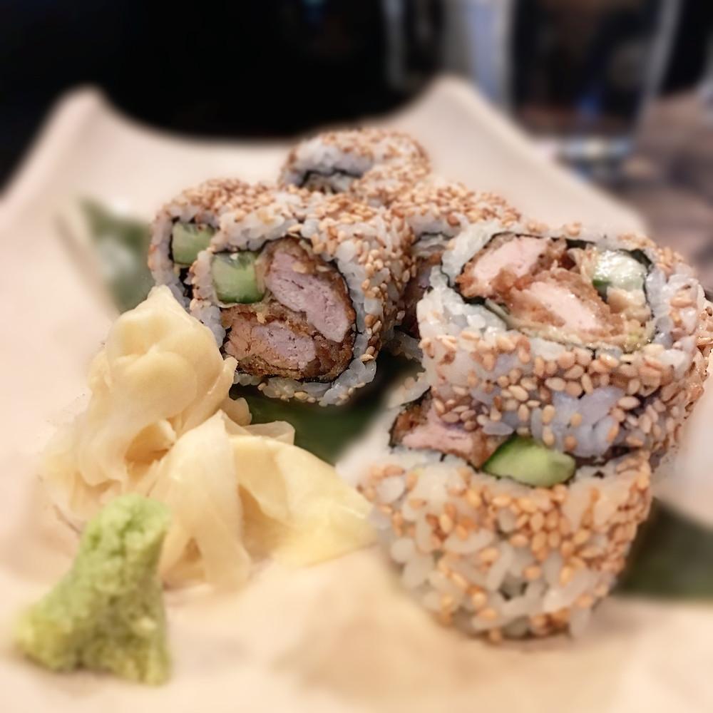 Gypsy & Pig | Tonkatsu sushi