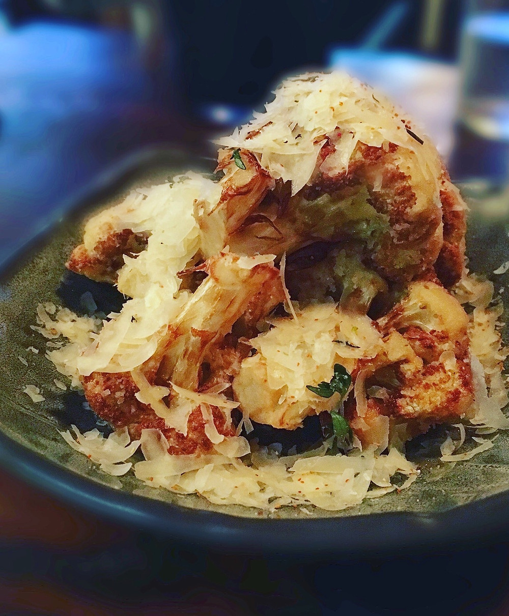 United Kitchen | Parmesan cauliflower