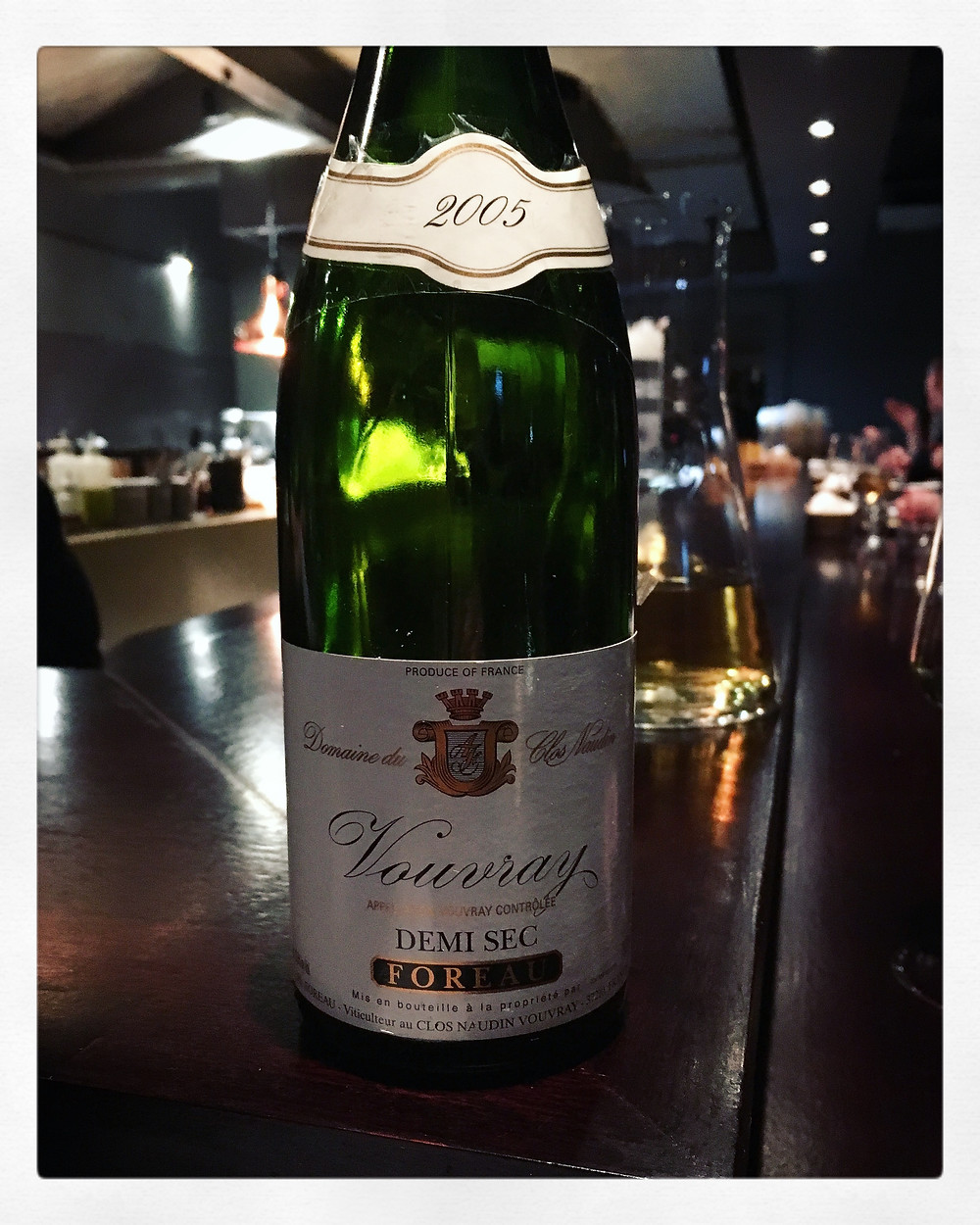 Ôter | 2005 Foreau Phillippe Vouvray