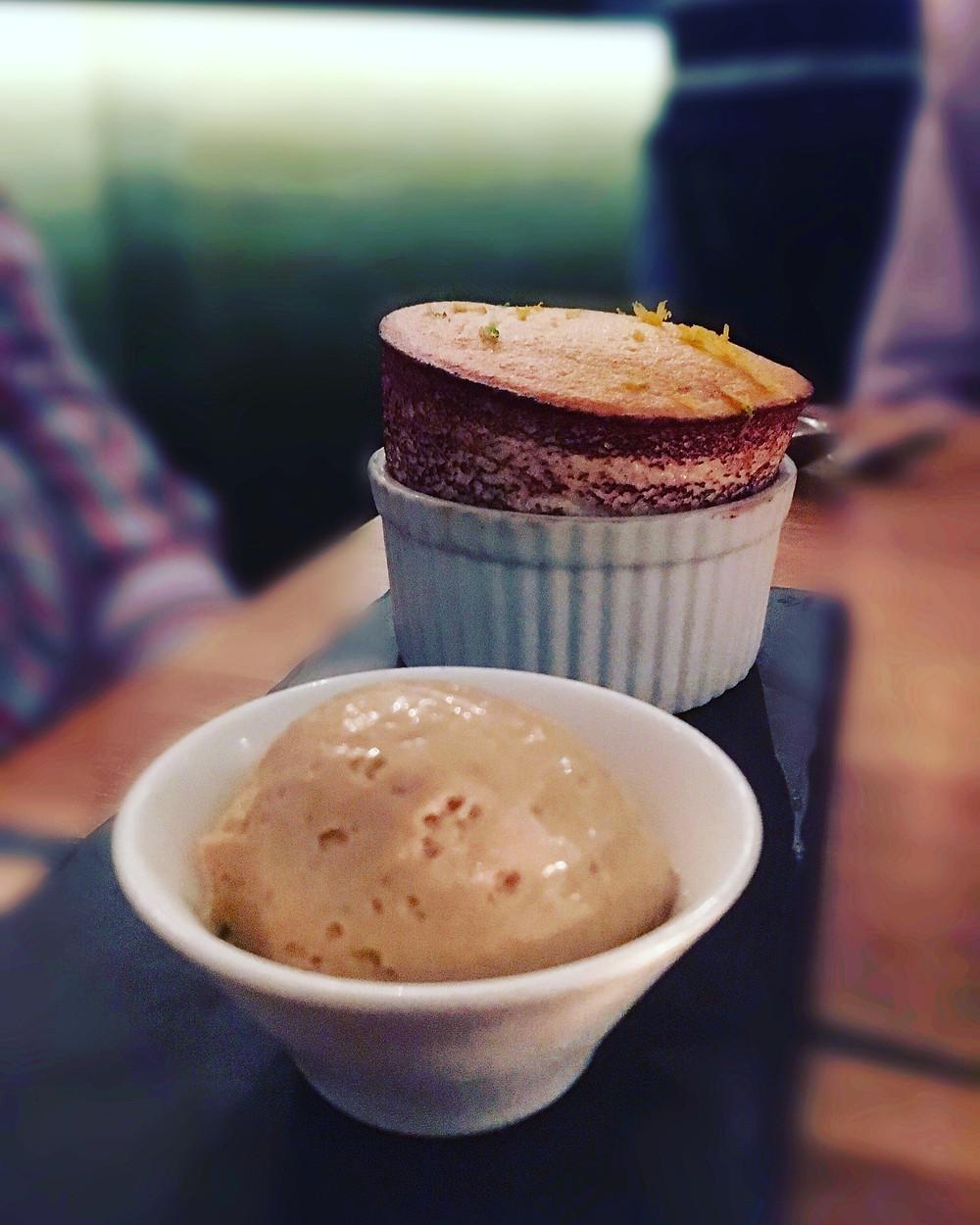 The Graham | Tangerine souffle