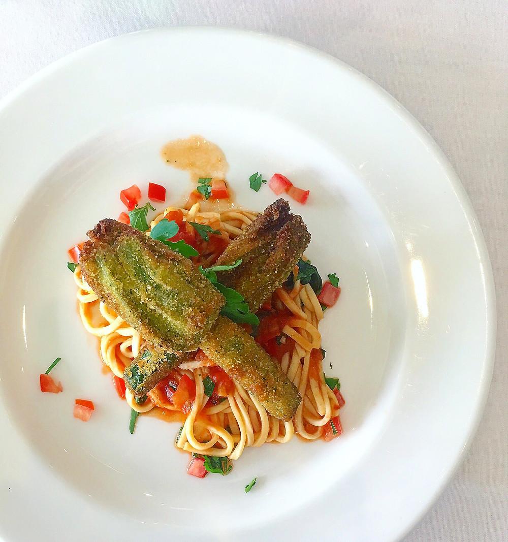 Melbourne Restaurant Review | Vines Restaurant | Zucchini Flowers