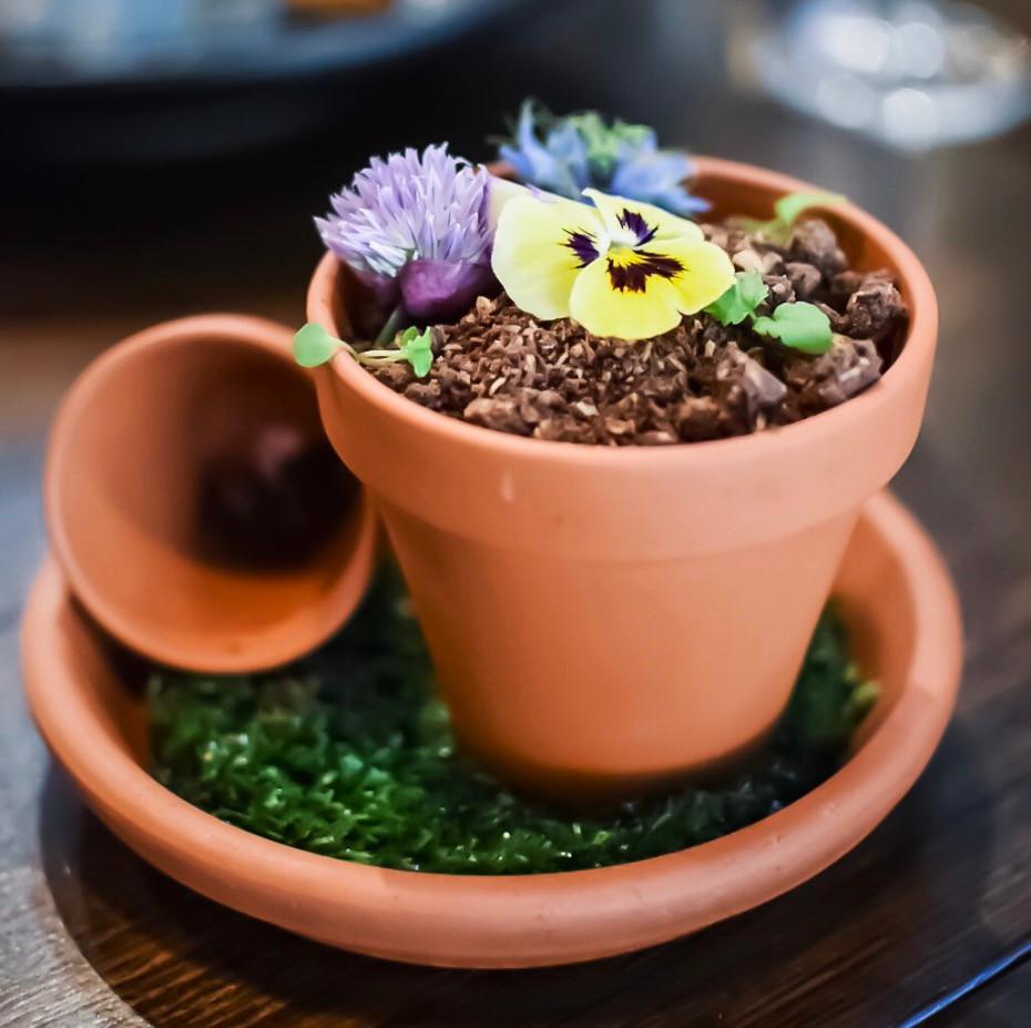 Blondie Bar   Blondie's signature flower pot