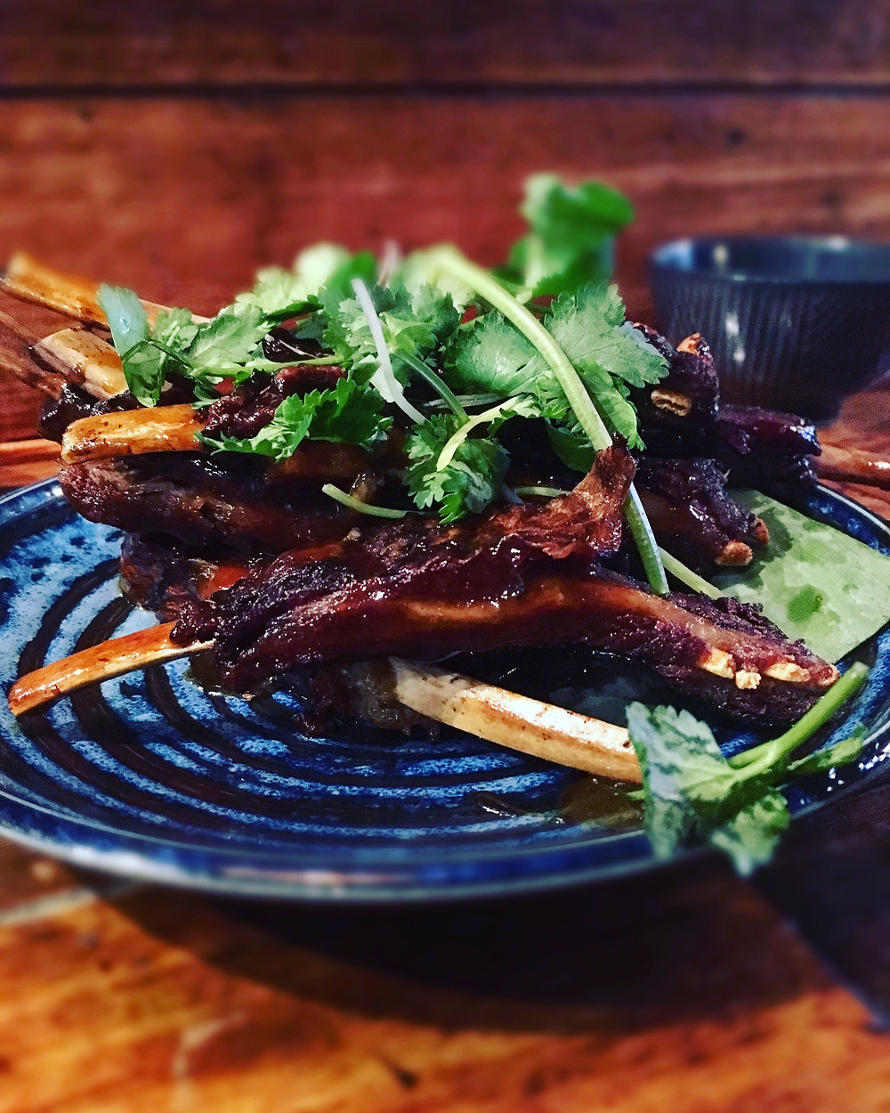 Rice Paper Scissors | Grilled lamb ribs
