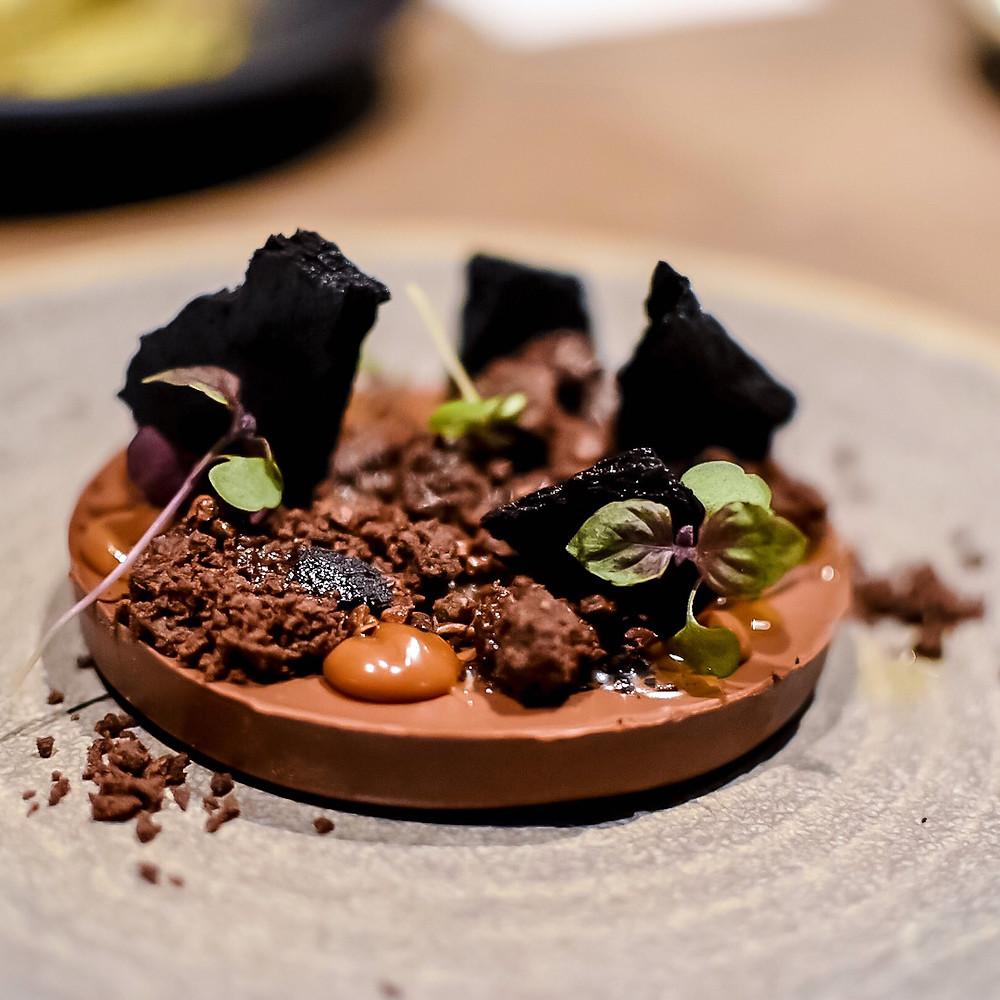 Osteria Ilaria | Oliver oil chocolate mousse