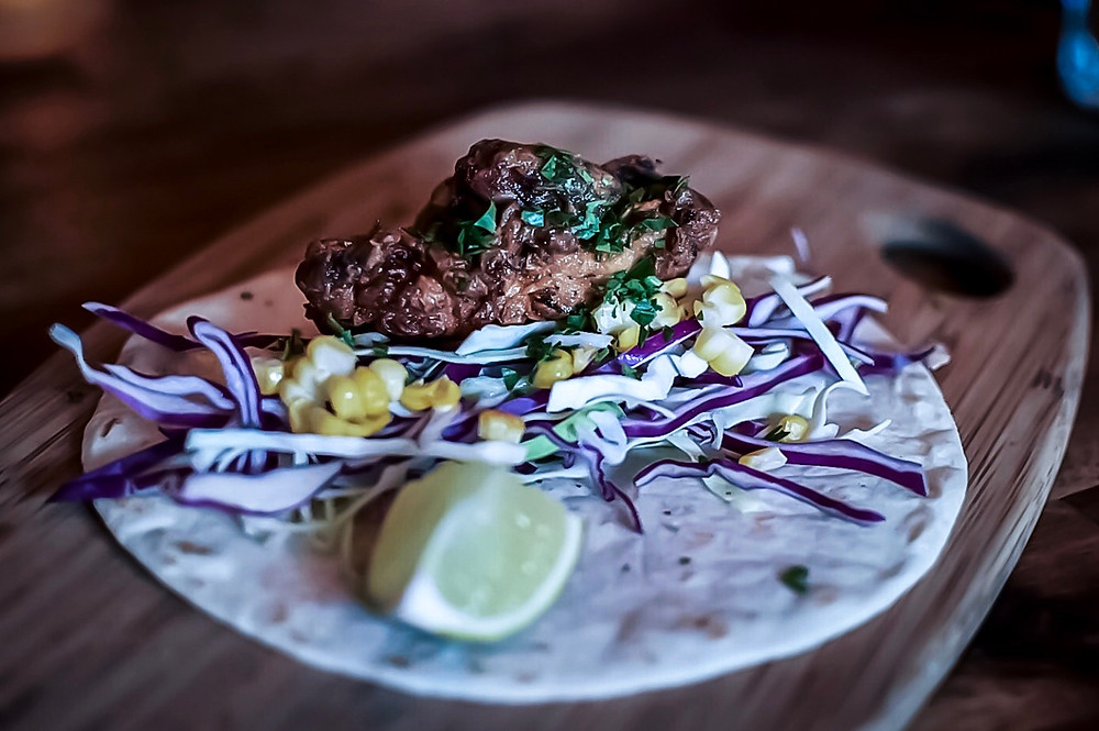 Saint Lucia Windsor | Fried chicken tacos