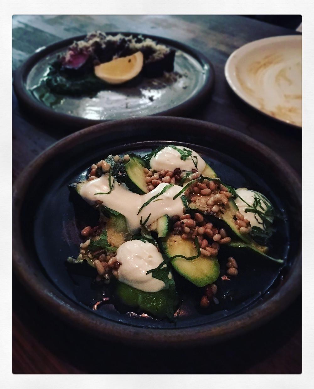 Bomba | Charcoal grilled zucchini
