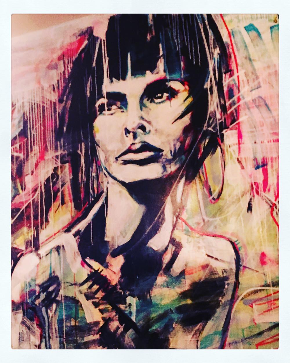Rice Paper Sister | Mural