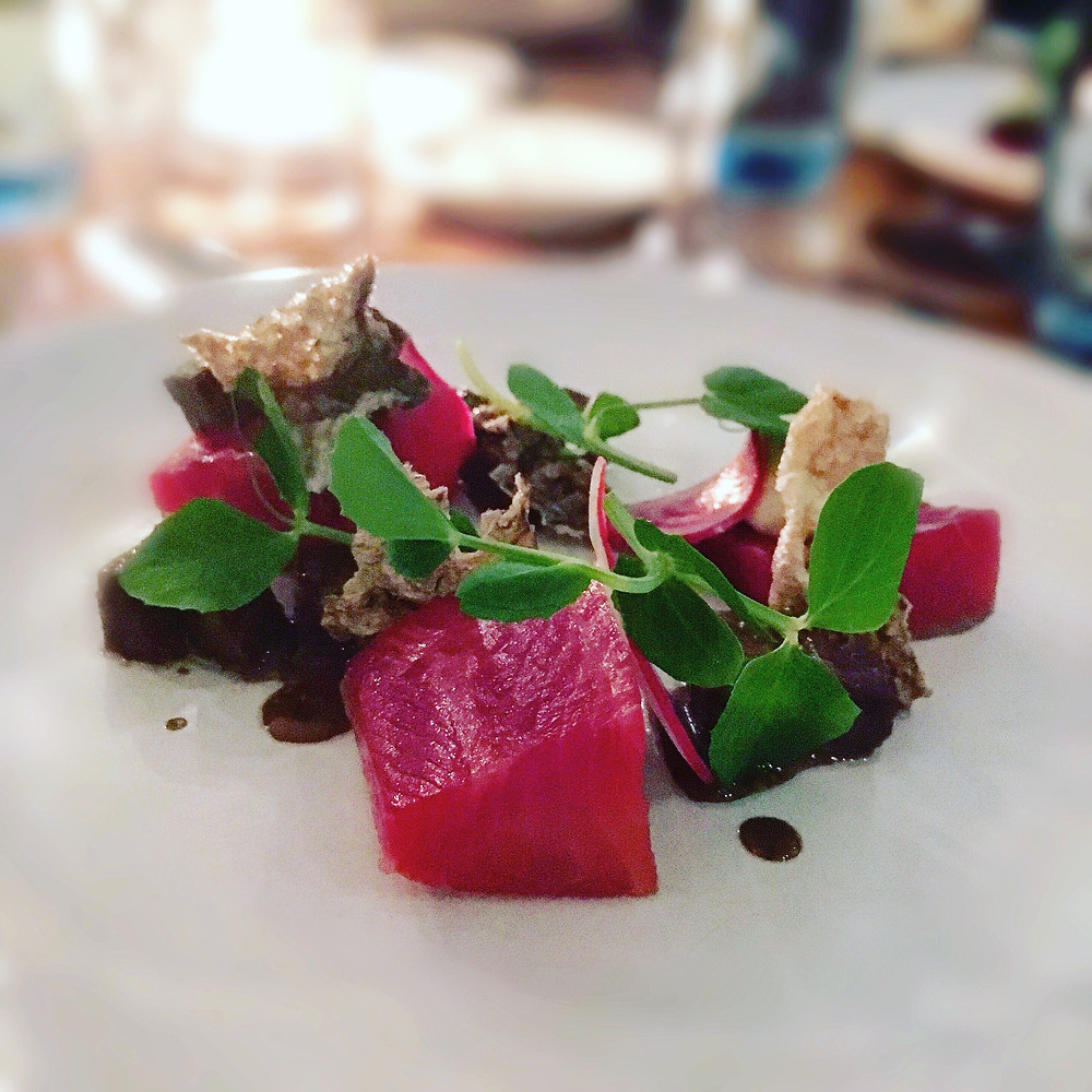 Melbourne restaurant reviews | The Graham | Cured ocean trout
