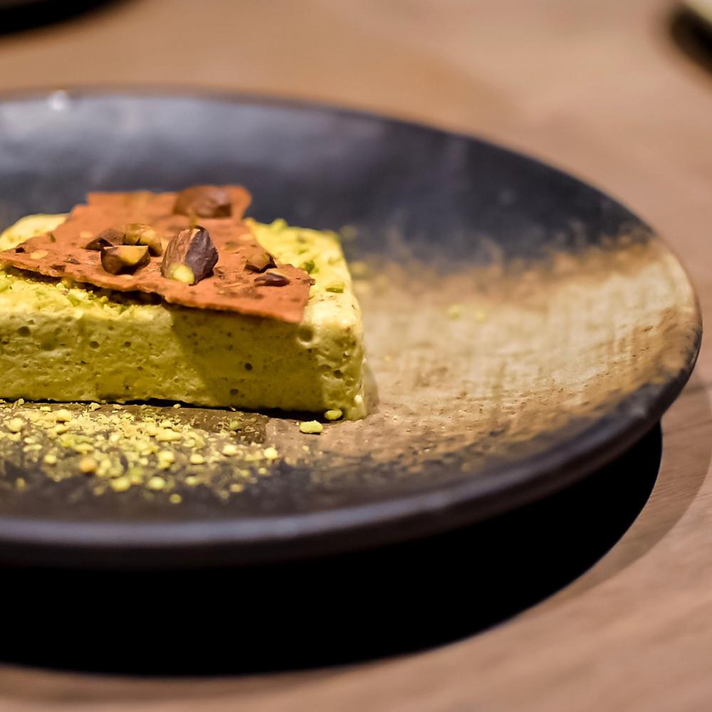 Osteria Ilaria | Pistachio semifreddo