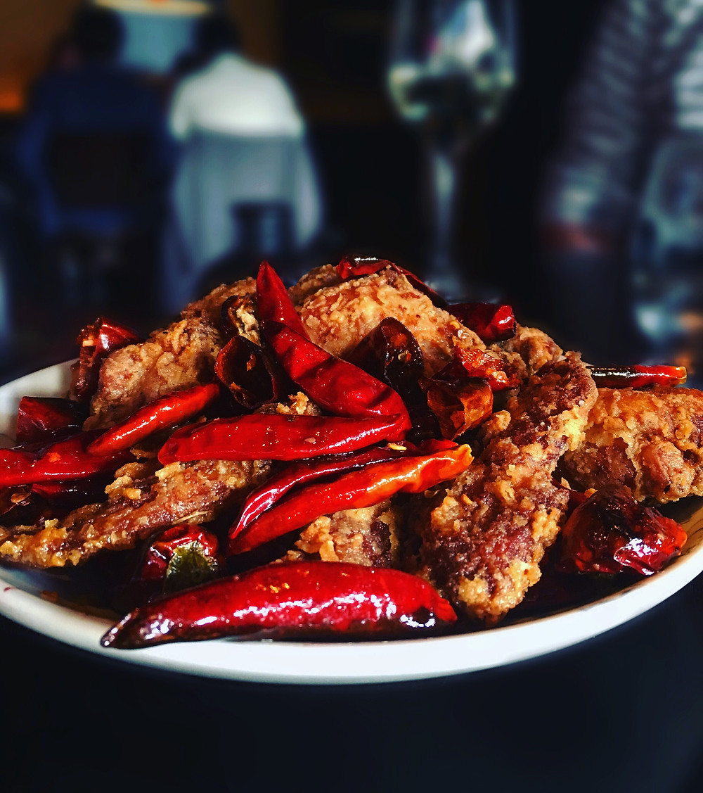 Spice Temple | Fried chicken with chilli