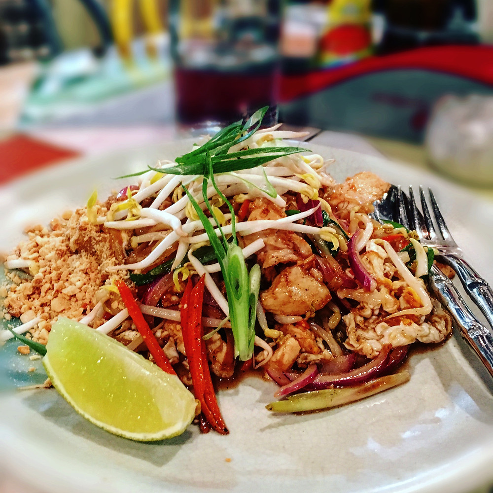 Mr Nice Guy | Pad thai chicken