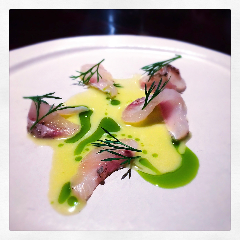 Ôter | Sea bream crudo