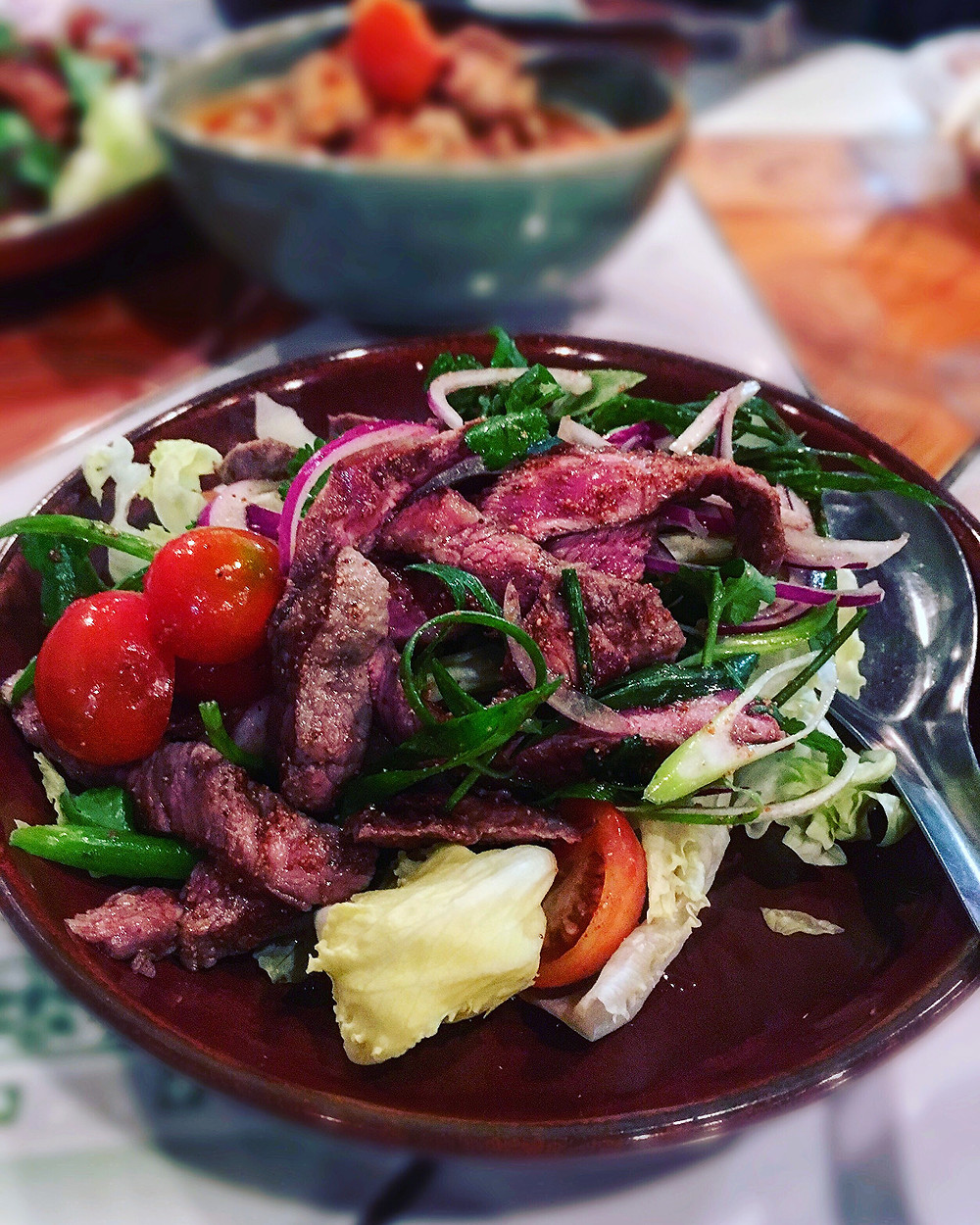 Mr Nice Guy | Grilled beef salad