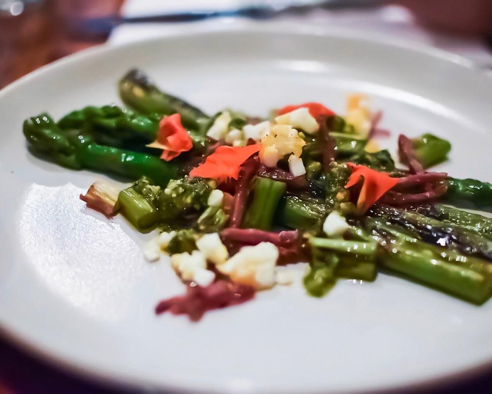 Franco Choo's | Grilled asparagus