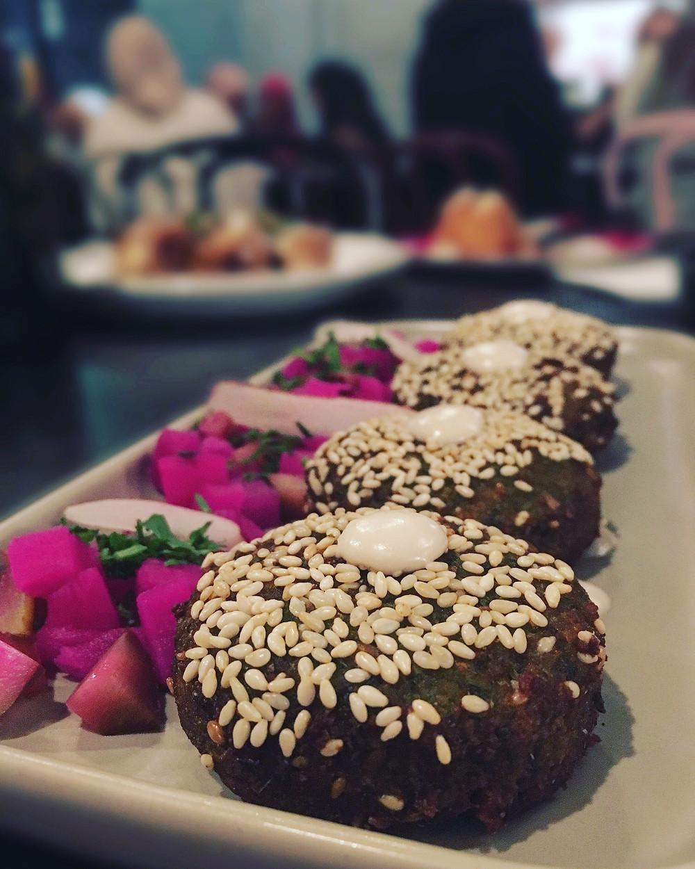 Melbourne restaurant reviews | Mama Rumaan | Falafel