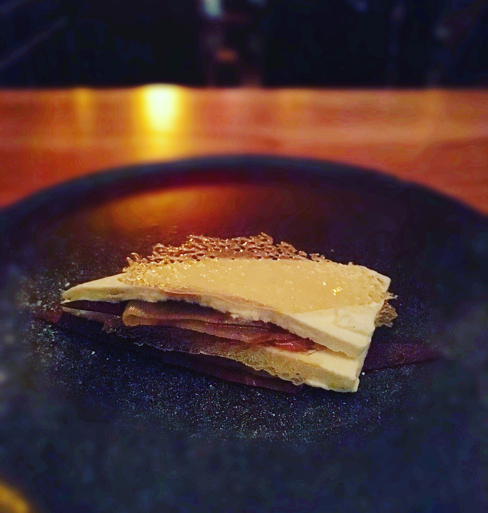 The Town Mouse | Pickled pear & chocolate