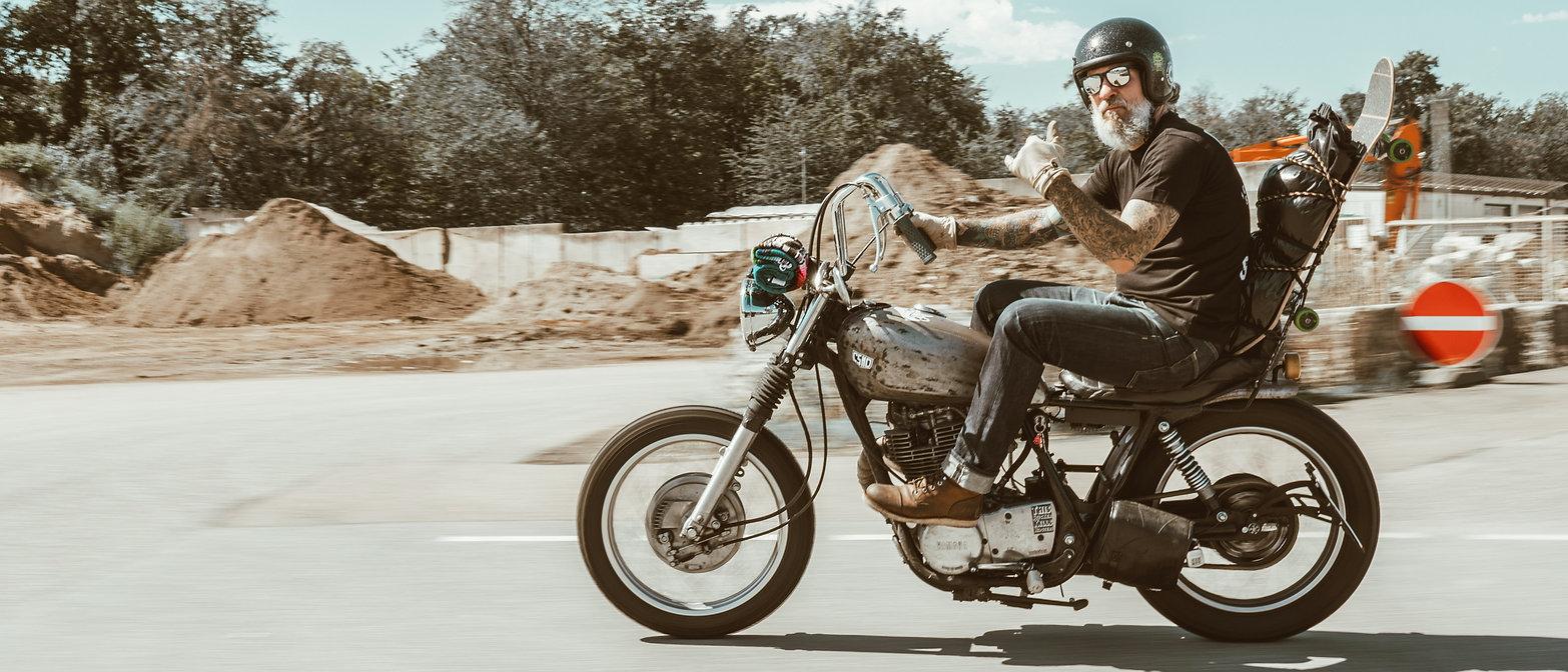 CSMD Store Concrete Surfers Motorcycle Dudes Chopper Skatebord