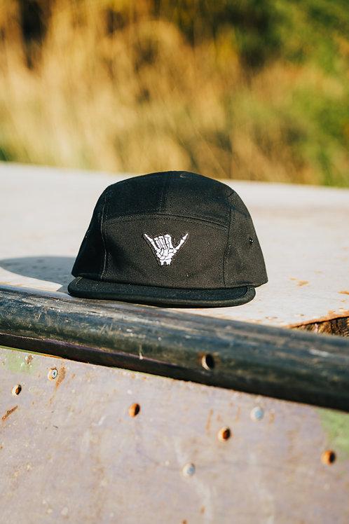 Hang Loose Jockey Cap (Black)