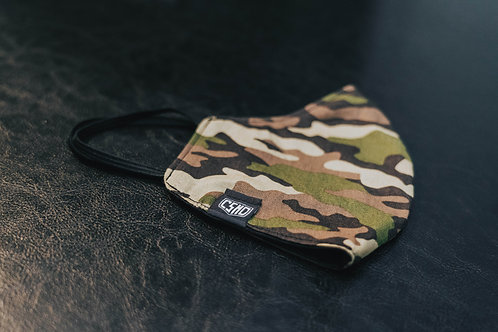 CSMD Camo Face Mask (Camouflage Pattern)
