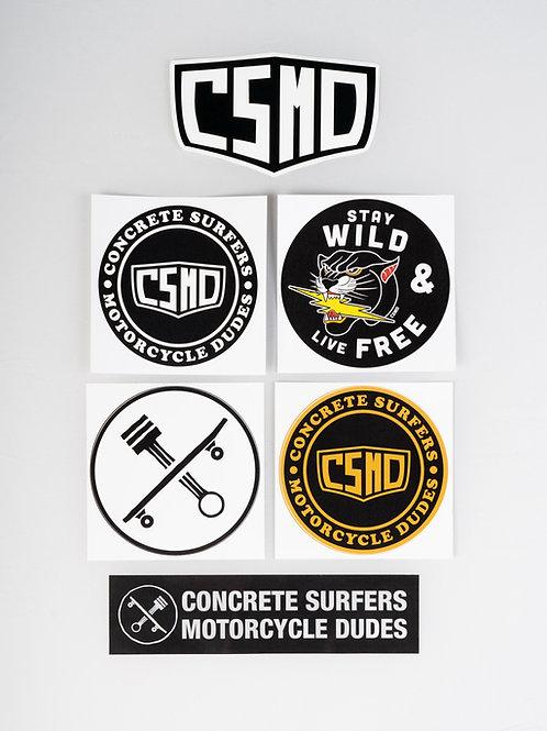 CSMD Sticker Set
