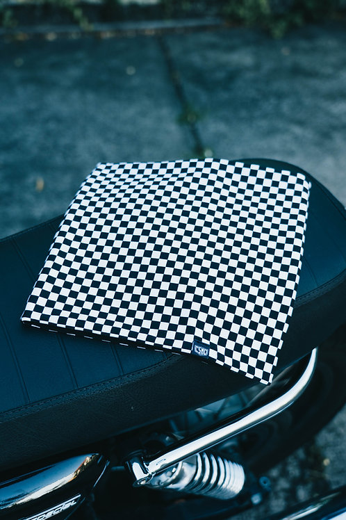 Stay Fast Loop Scarf Checkerboard