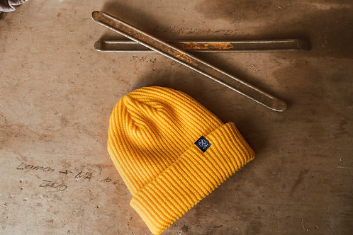 Stay Gold Beanie (Yellow)