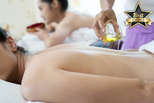 Aroma Oil Infused Massage Therapy