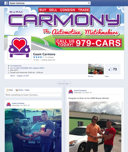Guam Carmony Facebook