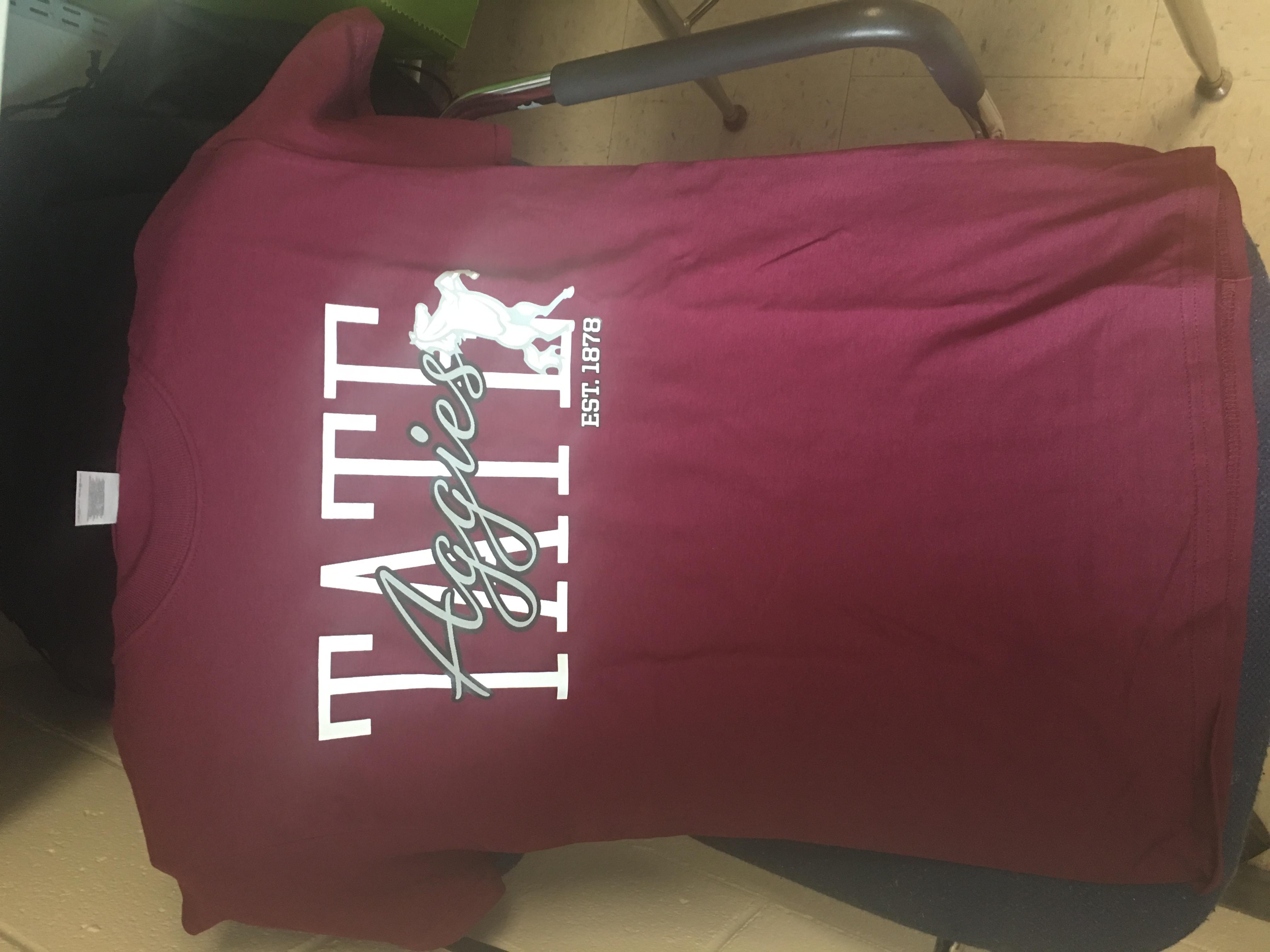 Maroon Tate tshirt