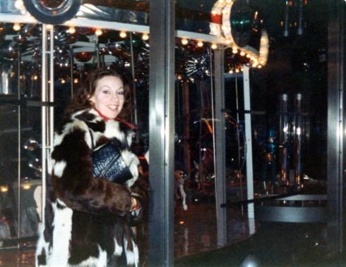 1980s MC in patchwork fur