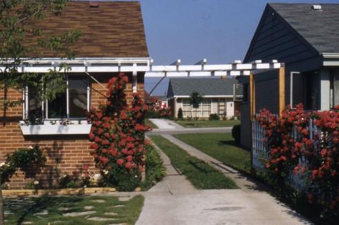 1950s IL Nora Street driveway