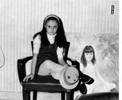 Sophie with the painting