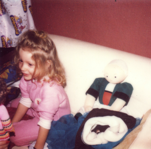 Sam Chardin and Becassine doll
