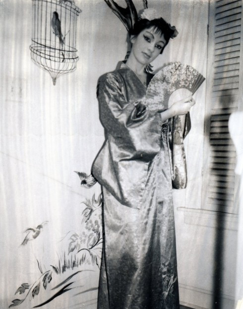 50s? IL, MC in Chinese costume