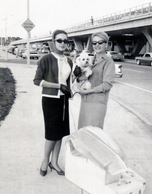 60s JFK airport, Helene, MC & Chou