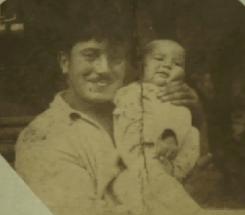 Rene Chardin with Jean (baby)