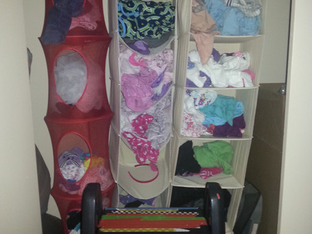 Children's clothing, organized!
