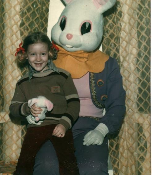 1979 Paris Sam and Easter bunny
