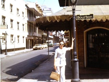 Vintage late 60s Mod style & New Orleans